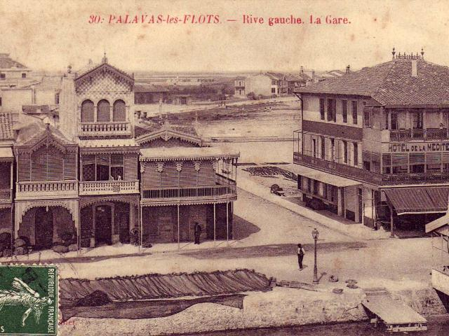 Carte Postale Palavas Rive Gauche